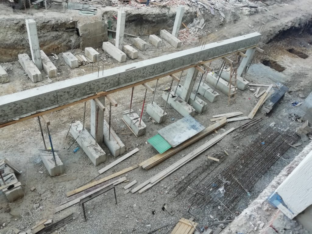 Будівництво комерційних приміщень.