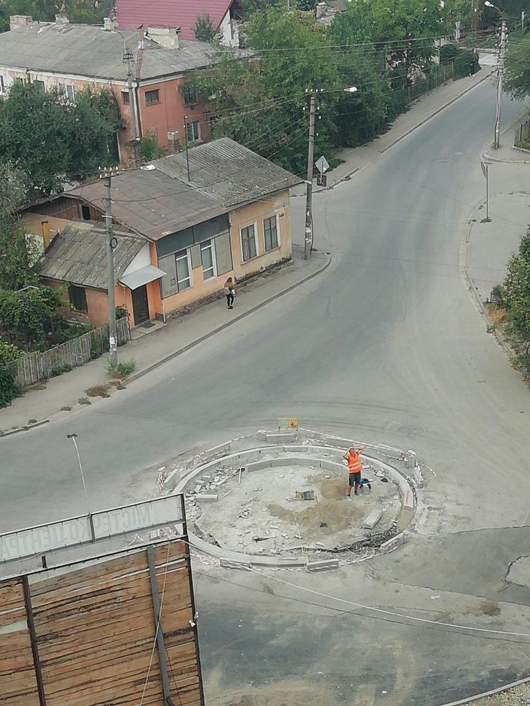 Кольцо на ул. Высочана